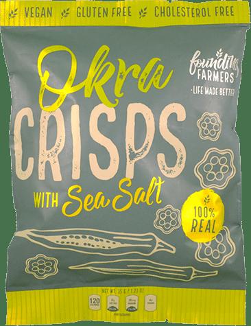 Founding Farmers - Okra Crisps Packaging