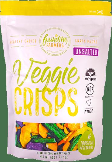 Founding Farmers Veggie Crisps Packaging
